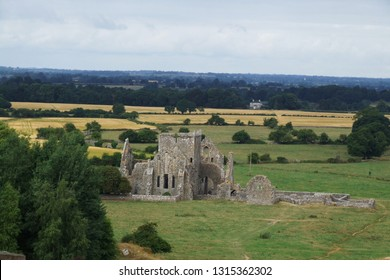 Ruins of Hore Abbey near the medieval castel Rock of Cashel, County Tipperary, Ireland