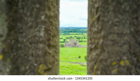 Ruins of the Hore Abbey in the small town in Ireland a few meters away from the Rock of Cashel in Ireland