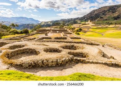 Ruins of Ingapirca, Inca city,  Canar Province, EcuadoEcuador