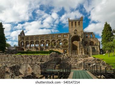 The Ruins of Jedburgh Abbey, Scottish Borders