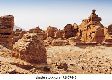 The Ruins of Jiaohe is located near Turpan City,Xinjiang,China. It is a well-known ancient city with a history more than 2,000 years along the Silk Road.