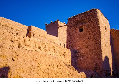 ruins of kasbah in ouarzazate
