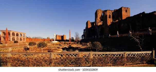 The ruins of Kenilworth Castle Warwickshire English Midlands England UK