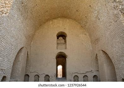 Ruins of King Ardashir's palace, Firuzabad, Iran