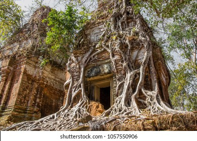 The ruins of Koh Ker - Shutterstock ID 1057550906