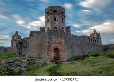 Ruins of Krzyztopor Castle in Poland