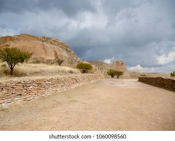 Ruins of La Quemada, Zacatecas, Mexico