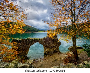 Ruins in the lake
