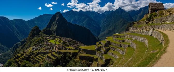 Ruins Of machu pichu  Peru
