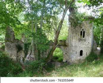 Ruins of the Majolan Park, France