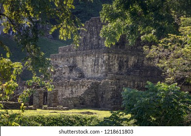 Ruins of the Mayan City Palenque in Mexico