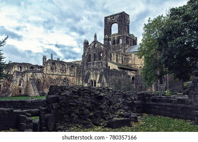 Ruins of medieval abbey