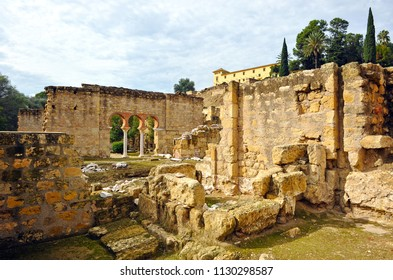 Ruins of Medina Azahara, arab city founded in 936 by Abderramán III about 8 km from Córdoba. World Heritage by UNESCO. Andalusia, Spain