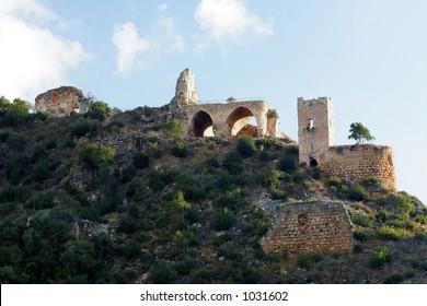 Ruins of Monfort castle, Israel