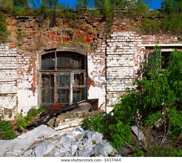 Ruins of old building