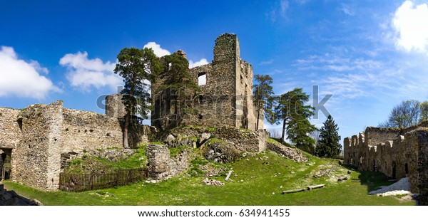 The ruins of the old castle Helfenburk