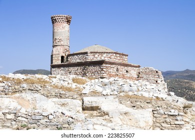 Ruins of an old mosque at Ayasuluk Hill, Selcuk Ephesus IZMIR, Turkey