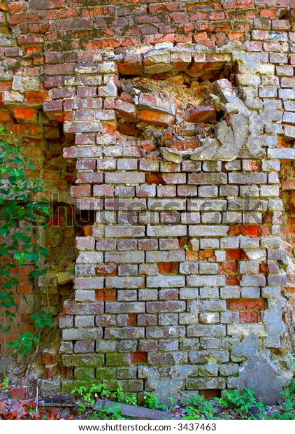 Ruins of old wall