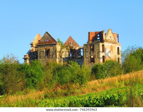 Ruins On Barefoot Carmelites Monastery Zagorz Stock Photo (Edit Now
