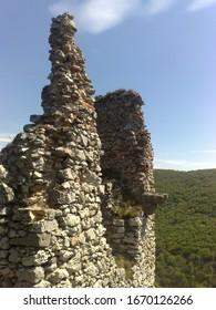 Ruins of Ostry Kamen castle - Slovakia - Shutterstock ID 1670126266