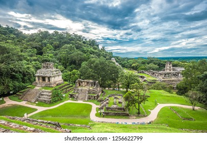 Ruins of Palenque, Chiapas, Mexico