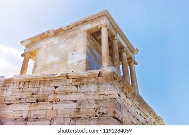 Ruins of Parthenon at the Acropolis - Greece