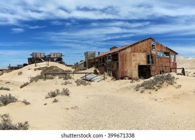 ruins in pomona namibia