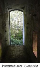 ruins of prison of war camp