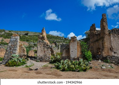 Ruins of Real de Catorce, San Luis Potosi, Mexico