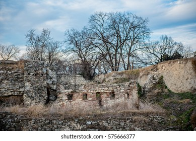 Ruins and remains of Belgrade old fortress Kalemegdan