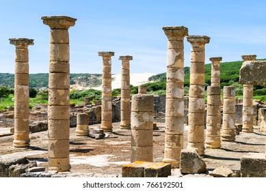 Ruins of a Roman city
