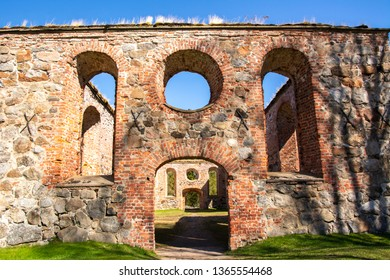 Ruins of Saint Mary's Church in Old Vaasa, Vaasa, Finland