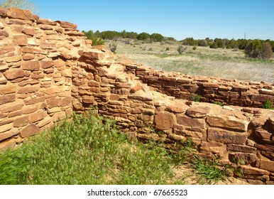 ruins at Salinas Pueblo Missions National Monument