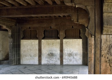 Ruins of Shaniwar wada. The historical icon of pune