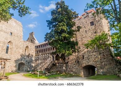 Ruins of Sigulda Medieval Castle, Latvia