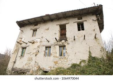ruins in slapnik
