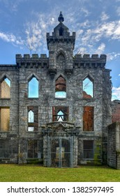 Ruins from the Smallpox Memorial Hospital on Roosevelt Island in New York City.