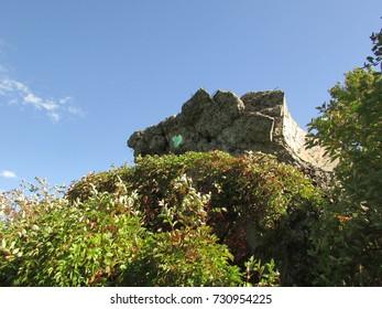 ruins of soviet bunker