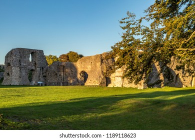The ruins of St Pancras Priory in Lewes, East Sussex