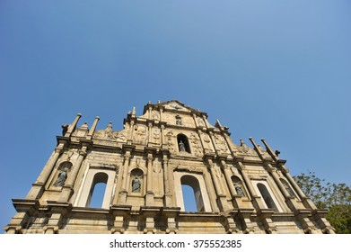 Ruins of St. Paul's. Built from 1602 to 1640, one of Macau's best known landmarks. In 2005, they were officially listed as part of the Historic Centre of Macau, a UNESCO World Heritage Site.