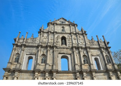 Ruins of St. Paul's. Macau. (Macao) China