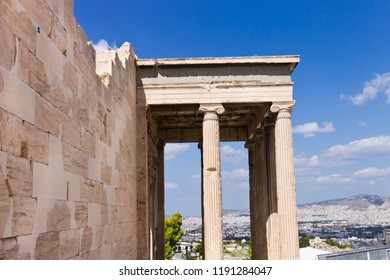 Ruins of the Temple Parthenon at the Acropolis - Greece