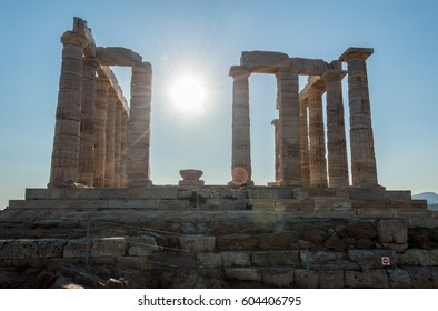 Ruins of the temple of Poseidon