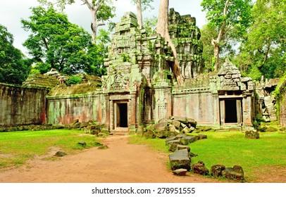 Ruins of the temples, Angkor Wat