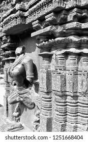Ruins of Warangal Fort, Warangal Fort Complex, Telangana, India