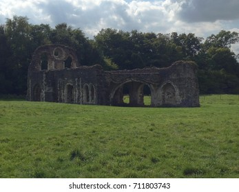 Ruins of Waverley abbey. Founded about 1000 years ago.