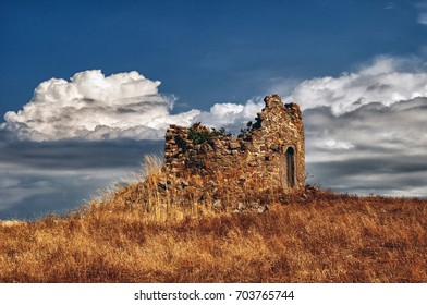 ruins from a windmill/The old mill