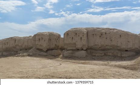 Ruins of a ziggurat at the Sumerian city of Kish