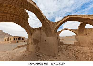 Ruins of Zoroastrian temples near the city of Yazd, in Iran.