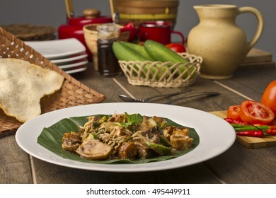 Rujak Cingur Surabaya, Indonesian culinary